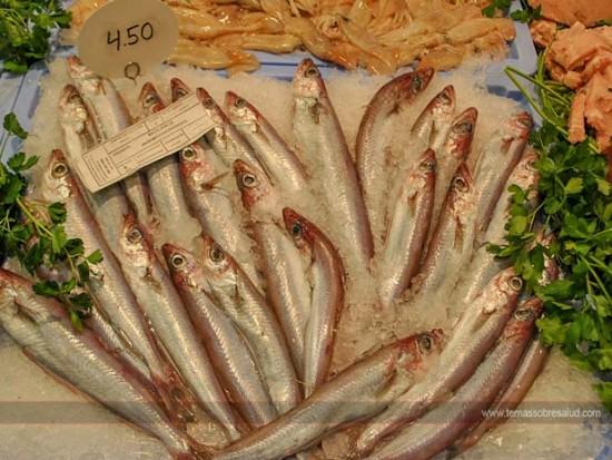 alimentos ricos en calcio - sardinas