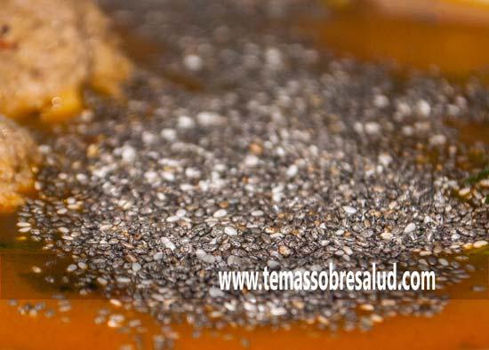 grasas semillas de chía