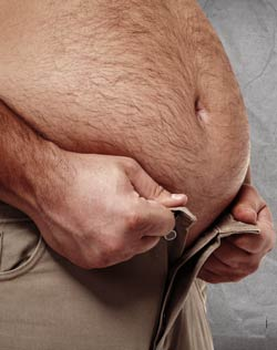 hinchazón abdominal