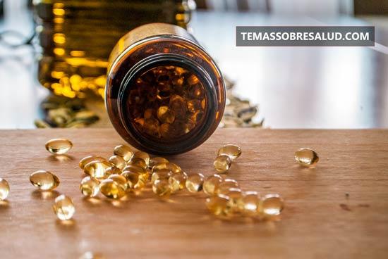 aceite de hígado de bacalao y la Fuerza del riñón
