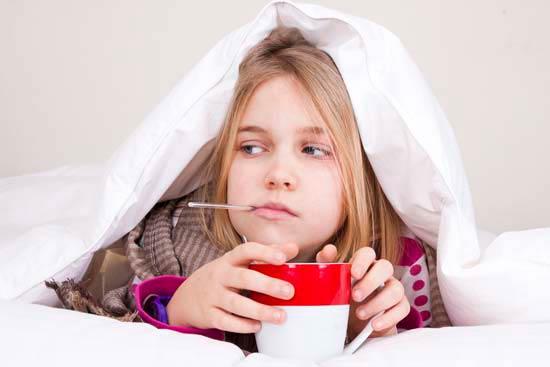 antibióticos en la infancia termométro