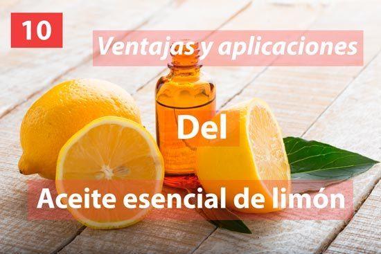 aceite esencial de limón aroma