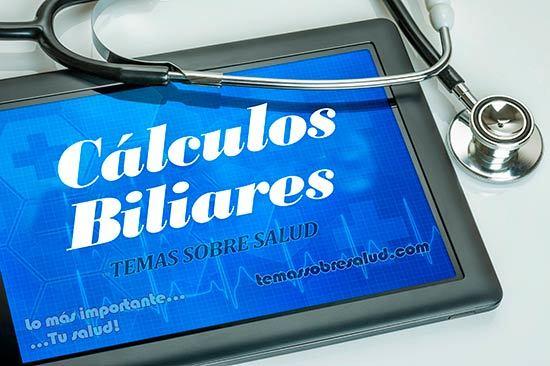 Cálculos biliares - Cólicos hepáticos