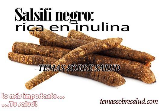 Verduras olvidadas Salsifi negro