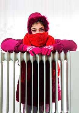 sensación de frío