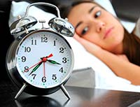 falta de sueño matricaria