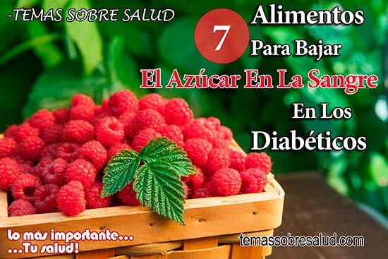 alimentos que reducen el azúcar en la sangre