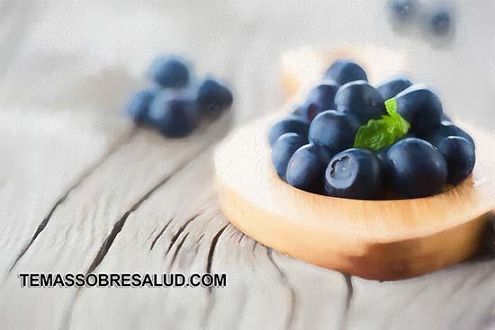 Las fresas son de las mejores frutas para diabéticos Arándanos