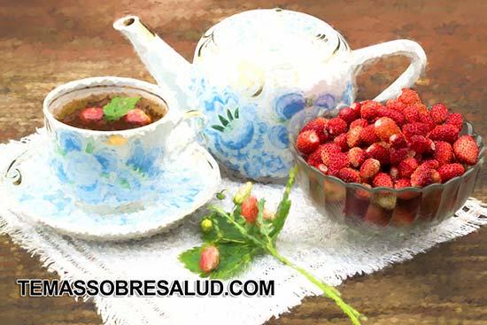 Beneficios de las fresas ricas en vitaminas