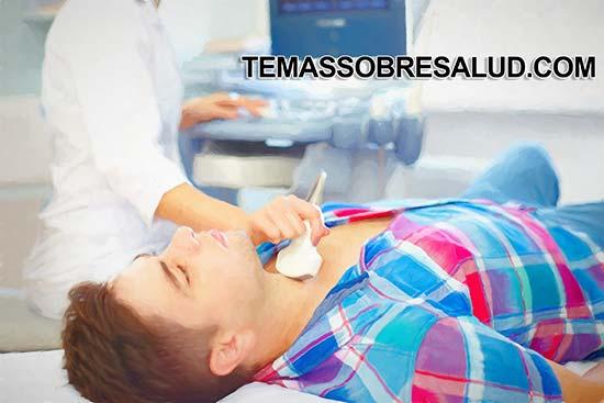 Gravedad de los problemas de la tiroides en los hombre