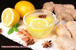 El agua de limón caliente fortalece el cerebro