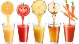 Zumo de fruta fresca