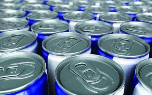 Los niños y las bebidas energéticas.