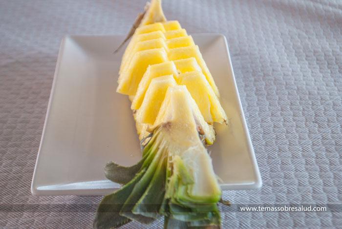 Las piñas una fruta que debes incluir en la dieta