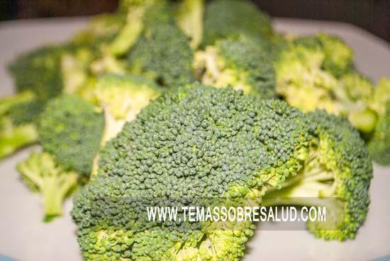 producción de gases brócoli