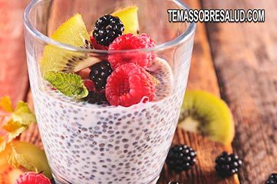 Incluir las semillas de chía en el desayuno