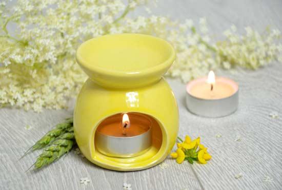 aceites esenciales - inhalación, o aromaterapia