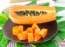 Enzimas de papaya
