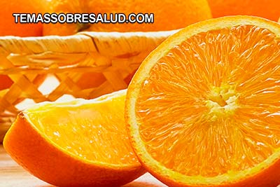 Vitamina c proveniente de las naranjas