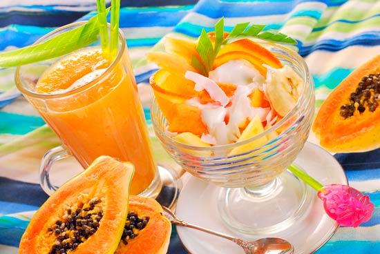 vitamina C papaya