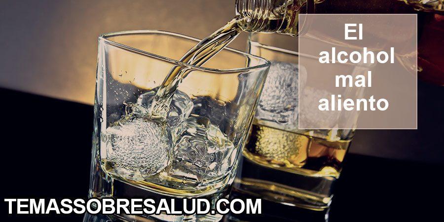 Halitosis causada por consumir bebidas alcohólicas