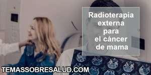 Radioterapia para el cáncer-