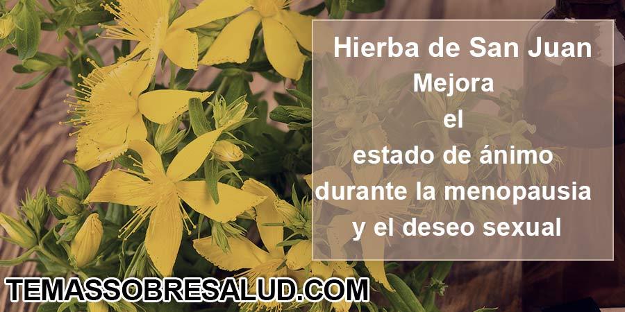 Hierba de San Juan - menopausia