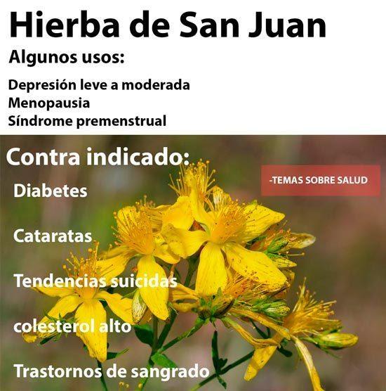 hierba de San Juan - malestar estomacal