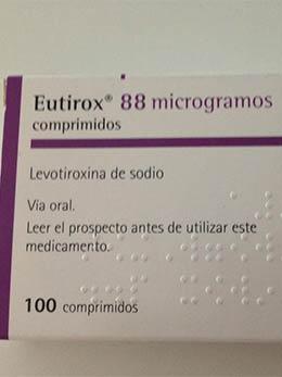 como debo tomar eutirox 100