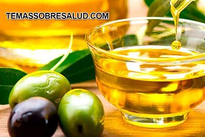 Aceite de oliva - rico en antioxidantes