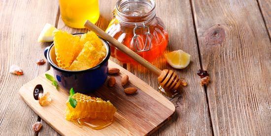 polen de abeja - miel