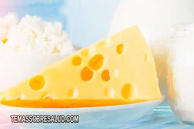 Reducir la inflamación -lácteos