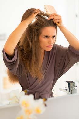 El mal funcionamiento de la tiroides contribuye a la pérdida de cabello