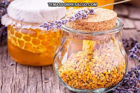 El polen de las abejas es casi es proteína pura - alimento nutritivo