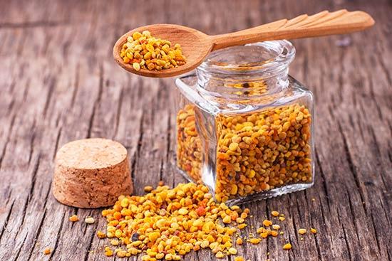 Valor nutricional polen de abejas