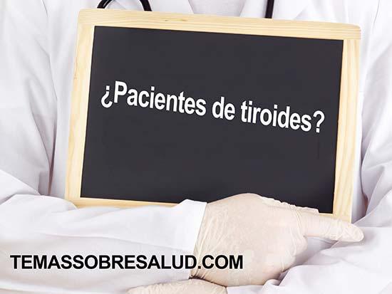Los pacientes de tiroides sufren cansancio crónico
