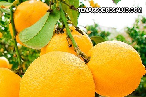 Diuréticos naturales - puedes usar la ralladura de los limones