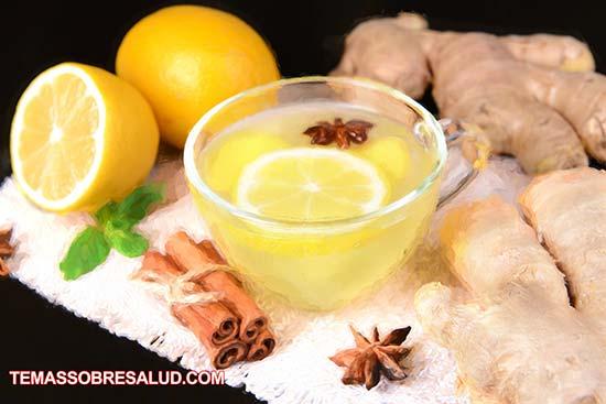 El agua de limón fortalece el sistema inmune vitamina c