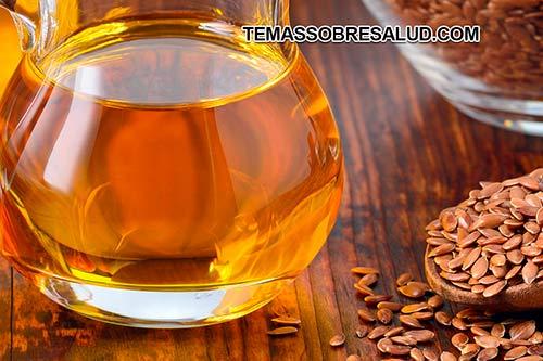 aceite de linaza Las semillas de linaza reducen el síndrome del ojo seco