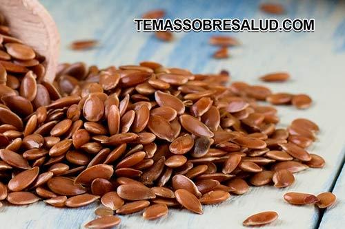 Las semillas de linaza reducen el síndrome del ojo seco