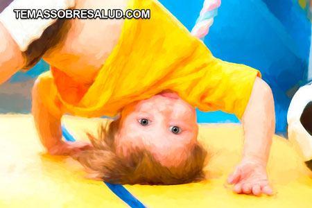 Hematomas y sangrado nene jugando