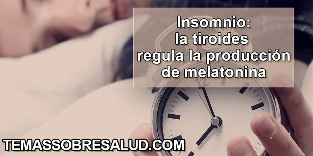 enfermedad tiroidea puede causar insomnio