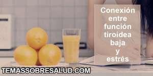 Síntomas causados por función tiroidea baja