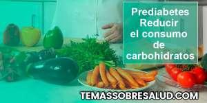 Reducir el consumo de carbohidratos
