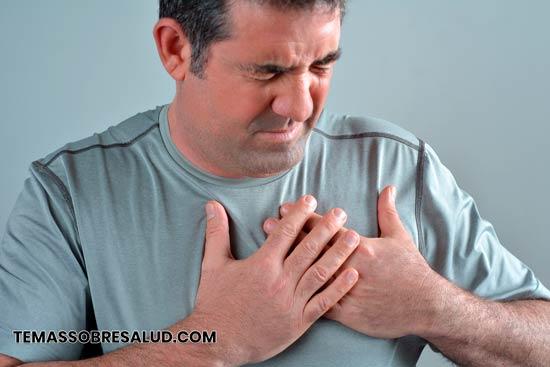 La opresión en el pecho puede ser causada por Neumonía.