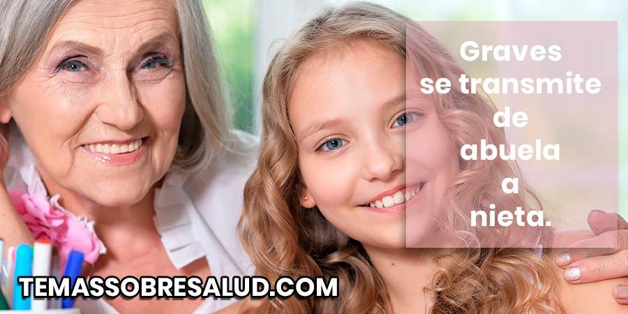 La enfermedad de Graves – Basedov es una enfermedad autoinmune debido a la hipersecreción de hormonas tiroideas.