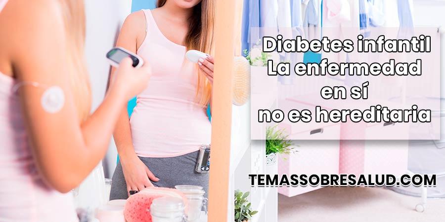 La aparición de innovadores dispositivos facilita mucho la vida de los niños que padecen diabetes infantil