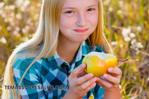 Los beneficios de la pera para la salud se deben a su contenido de yodo