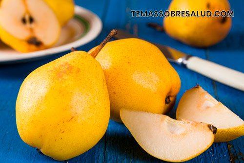 Beneficios de las peras para la salud - ricas en minerales