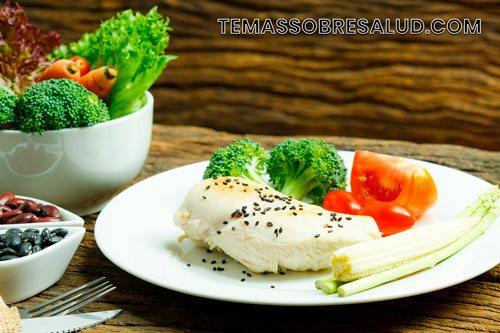 Controlar y prevenir la dieta - alimentos crudos